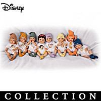 Disney Snow White And The Seven Dwarfs Mini Doll Collection