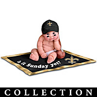 New Orleans Saints #1 Fan Baby Doll Collection