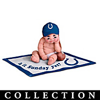 Indianapolis Colts #1 Fan Commemorative Baby Doll Collection