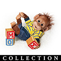 Happy Handfuls Of Fun Monkey Doll Collection