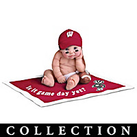 Wisconsin Badgers #1 Fan Commemorative Baby Doll Collection