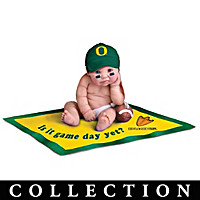 Oregon Ducks #1 Fan Commemorative Baby Doll Collection