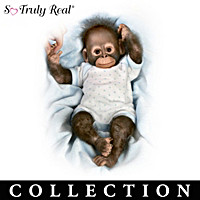 Zoo Cute For Words Monkey Doll Collection