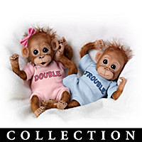 Twice The Fun Monkey Doll Collection