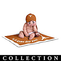 Texas Longhorns #1 Fan Baby Doll Collection
