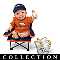 Denver Broncos Tailgatin' Tots Baby Doll Collection
