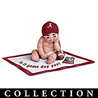 Alabama Crimson Tide #1 Fan Baby Doll Collection