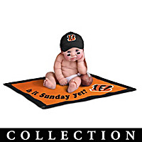 Cincinnati Bengals #1 Fan Baby Doll Collection