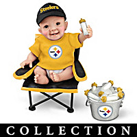 Pittsburgh Steelers Tailgatin' Tots Baby Doll Collection