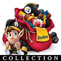 Pittsburgh Steelers NFL Elves Doll Collection
