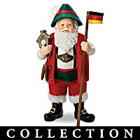 Santas From Around The World Doll Collection