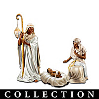 King Of Peace Nativity Figurine Collection