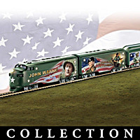 John Wayne American Patriot Train Collection