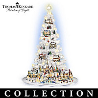 Thomas Kinkade's Village Christmas Tree Collection