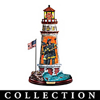 Firefighter's Lighthouse Sculpture Collection