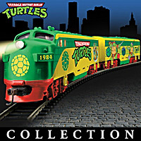 Teenage Mutant Ninja Turtles Express Train Collection