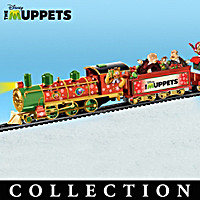 Disney Muppets Christmas Express Train Collection