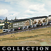 America's Armored Heroes Express Train Collection