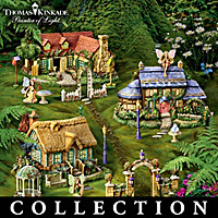 Thomas Kinkade's Fairy Garden Village Collection