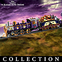 Tim Burton's The Nightmare Before Christmas Train Collection