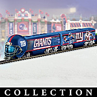 New York Giants Big Blue Express Train Collection