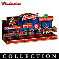 Budweiser Illuminated Signs Sculpture Collection