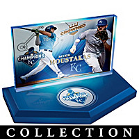 Kansas City Royals 2015 World Series Sculpture Collection