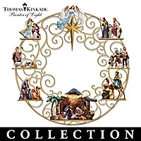Thomas Kinkade Golden Wreath Collection