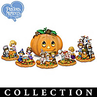Precious Moments Trick Or Treat Sculpture Collection