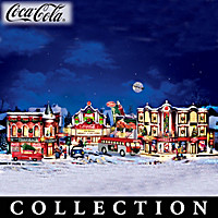 COCA-COLA Holiday Village Collection
