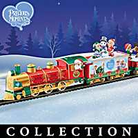Precious Moments Christmastime Express Train Collection