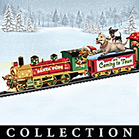Santa Paws Is Coming to Town Train Collection