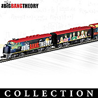 The Big Bang Theory Express Train Collection