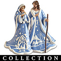 Heaven's Blue Nativity Collection