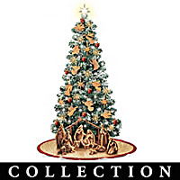 Olive Wood Holy Land Legacy Christmas Tree Collection