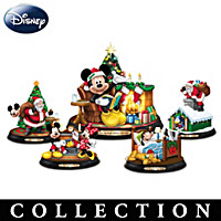 Disney's Twas The Night Before Christmas Figurine Collection