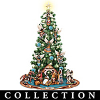 Blessings Of The Great Spirit Nativity Tree Collection
