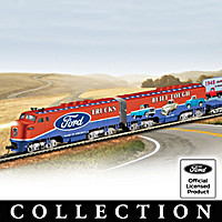 Ford Classic Pick-Up Trucks Express Train Collection