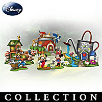 Disney Mickey Mouse & Friends Garden Village Collection