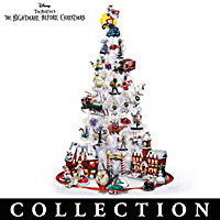 "Nightmare Before Christmas ""Christmas Town"" Tree Collection"