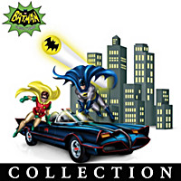 Adventures Of BATMAN & ROBIN Figurine Collection