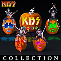 KISS Rocks Your Halloween! Sculpture Collection