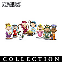 The PEANUTS Christmas Pageant Figurine Collection