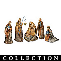 Natural Wonder Of The Nativity Figurine Collection