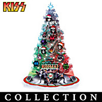 Merry KISSMAS Tabletop Christmas Tree Collection