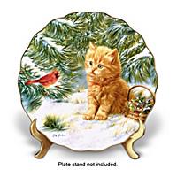Smitten Kitten Plate