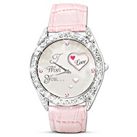 My Daughter, I Wish You Rotating Women's Watch