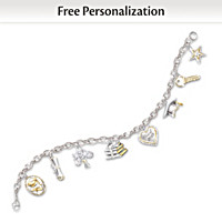 Head Of The Class Charm Bracelet