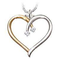 My Darling Daughter Diamond Pendant Necklace