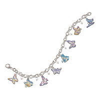 On Graceful Wings Charm Bracelet